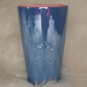 Starbuck blue iridescent mug